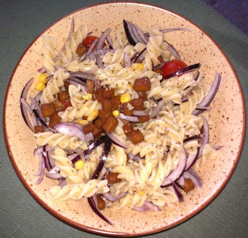 EstTOFUados: Ensalada de pasta y tofu