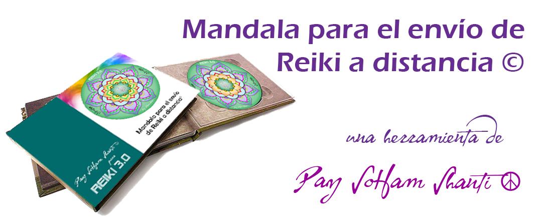 Mandala para el envío de Reiki a distancia de Reiki 3.0